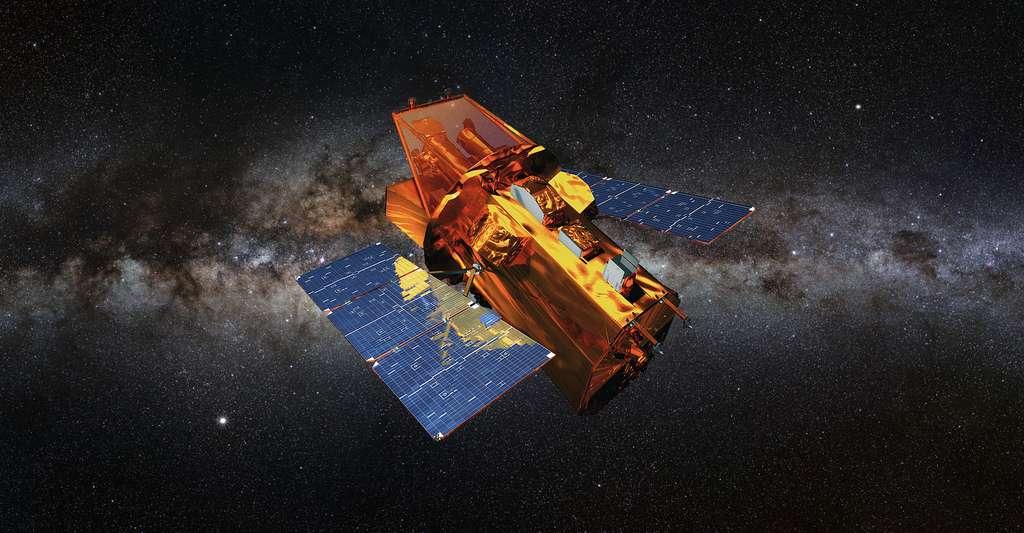 Le satellite Swift a découvert des sursauts gamma. © Nasa E/PO, Sonoma State University/Aurore Simonnet, DP