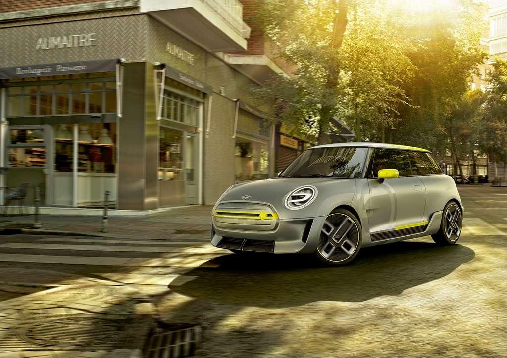 La Mini Cooper SE est très proche de la version actuelle. © Mini