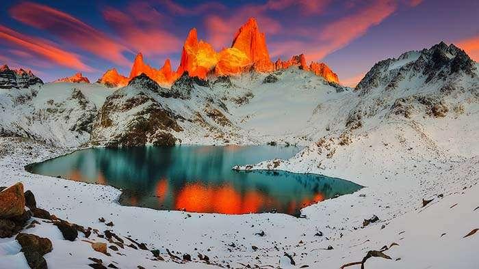 La Patagonie, c'est l'une des régions les plus belles, mais aussi les plus inhospitalières du monde. Pour les chercheurs, la région apparaît comme un véritable laboratoire à ciel ouvert. Car les évolutions de son écosystème préfigurent celles des décennies à venir sur le reste de notre Planète. © Marcio Cabral, tous droits réservés