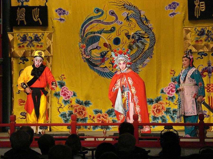 Opéra chinois à Pékin