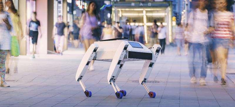 Le robot livreur Aida de la start-up Unsupervised.ai. © Unsupervised.ai, Facebook