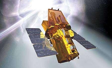 Le satellite Swift a pu observer en premier le nouveau sursaut du trou noir stellaire V404 Cygni, situé au sein de notre Voie lactée. © Nasa