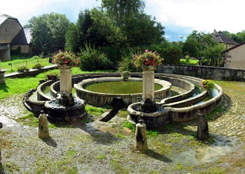 La fontaine de Crevans. © Communauté de communes de Villersexel, tous droits réservés