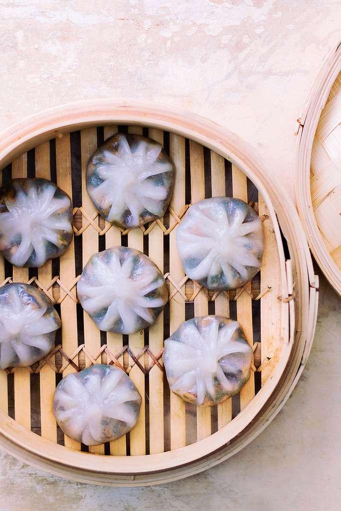 Raviolis transparents aux légumes divers © Amélie Roche, tous droits réservés
