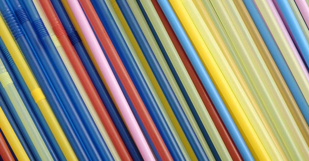 Les pailles qu'affectionnent nos enfants sont faites de polypropylène. © photoAC, Pixabay, CC0 Creative Commons
