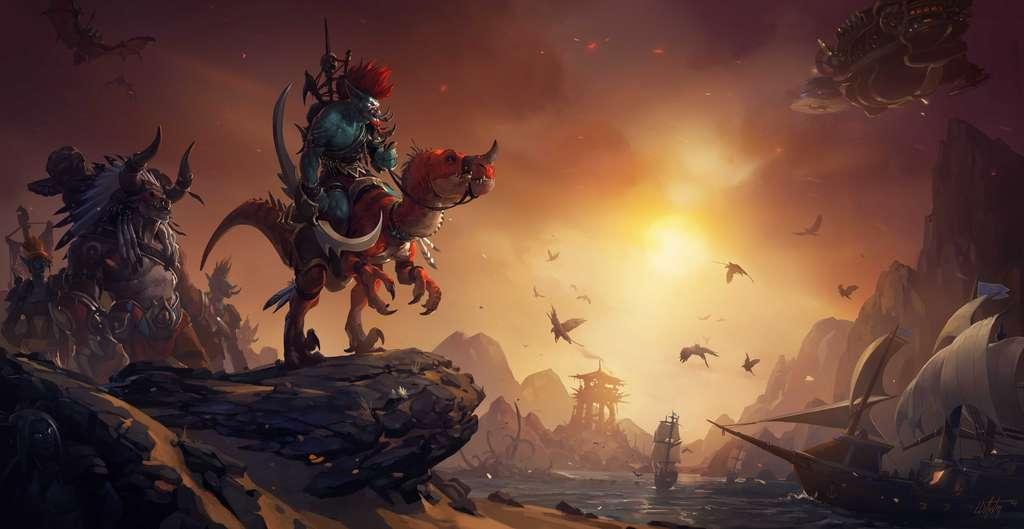 Durant le deuxième trimestre 2013, près de 7,7 millions de personnes ont joué à World of Warcraft. © Blizzard