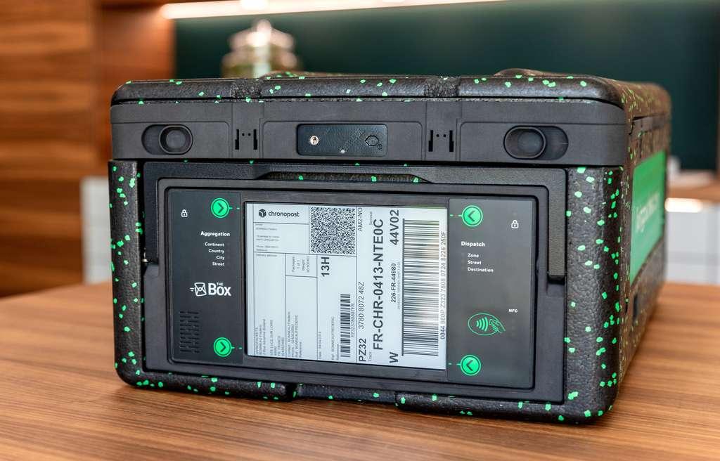 The Box, l'emballage de demain réutilisable et résistant. © Living Packets