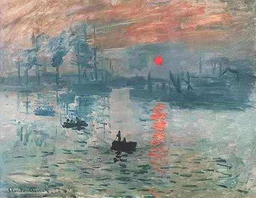 Monet - Impression Soleil levant.