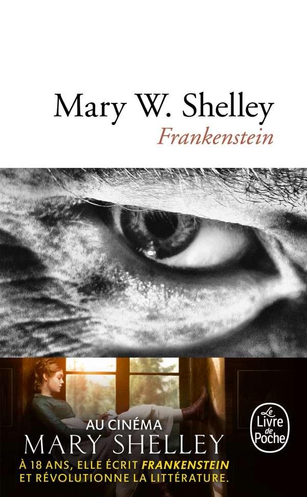 Frankenstein de Mary Shelley. © Édition Poche