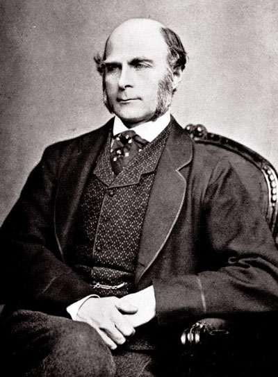 Francis Galton vers 1850. Ce Britannique a été à la fois anthropologue, explorateur, géographe, inventeur, météorologue, protogénéticien, psychométricien ou encore statisticien. © DP