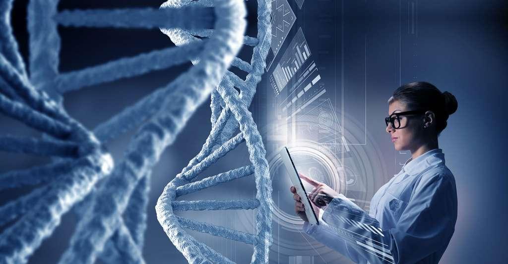 Nouvelles technologies pour décoder l'ADN. © Sergey Nivens, Shutterstock