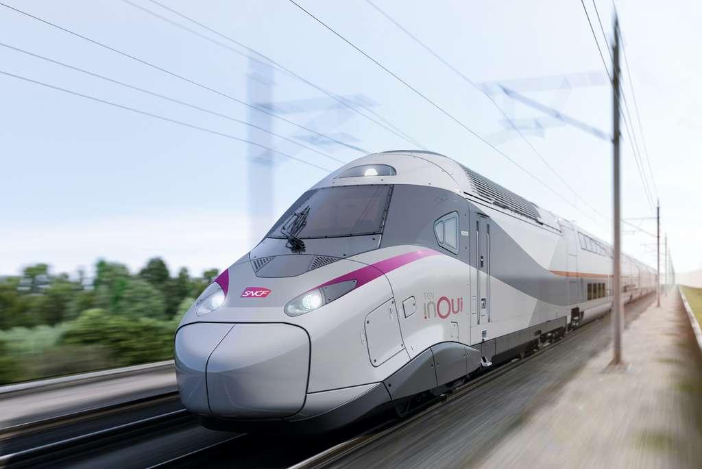 Plus de 2.000 personnes ont participé au projet TGV M, une collaboration 100 % française entre la SNCF et Alstom. © Astom SA-Speedinnov SAS 2020