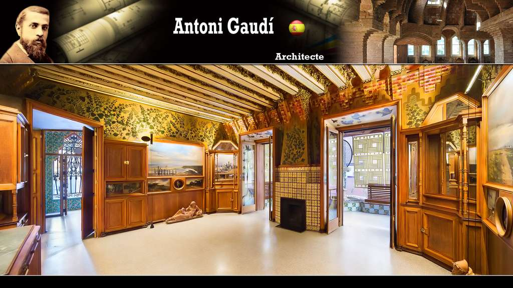 La Casa Vicens (Antoni Gaudí)