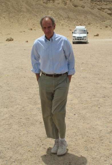 Bob Brier est le premier archéologue à soutenir la théorie de Jean-Pierre Houdin. © Pat Remler