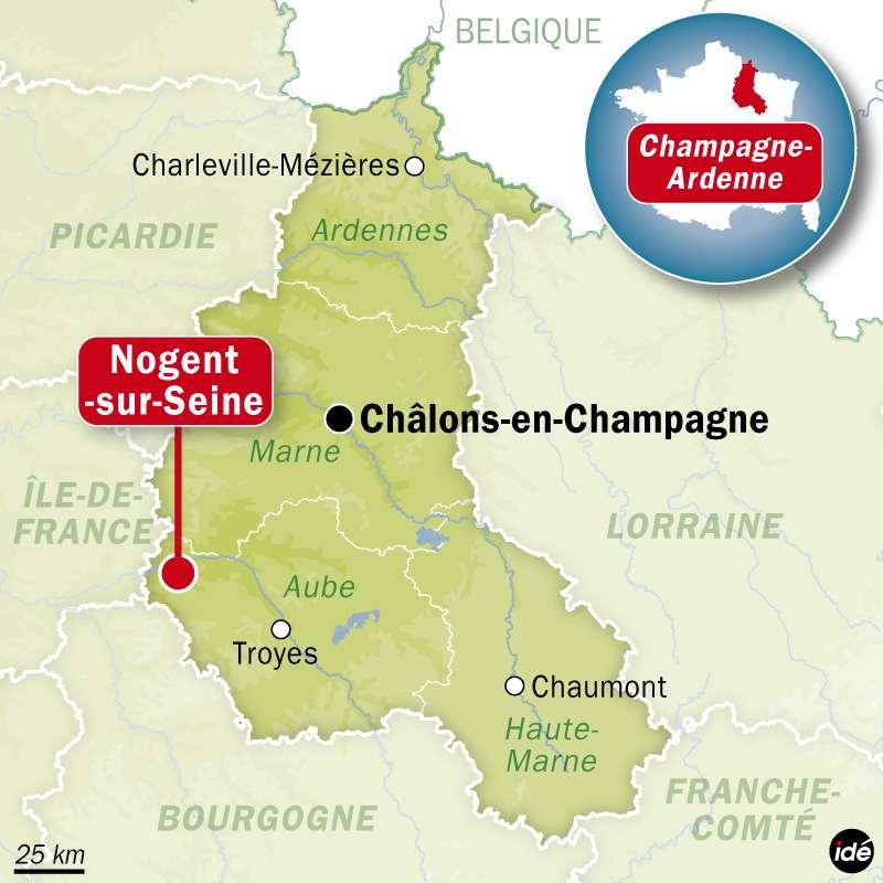 Des membres de Greenpeace se sont introduits dans la centrale de Nogent-sur-Seine pour dénoncer le manque de sécurité des centrales nucléaires. © Idé
