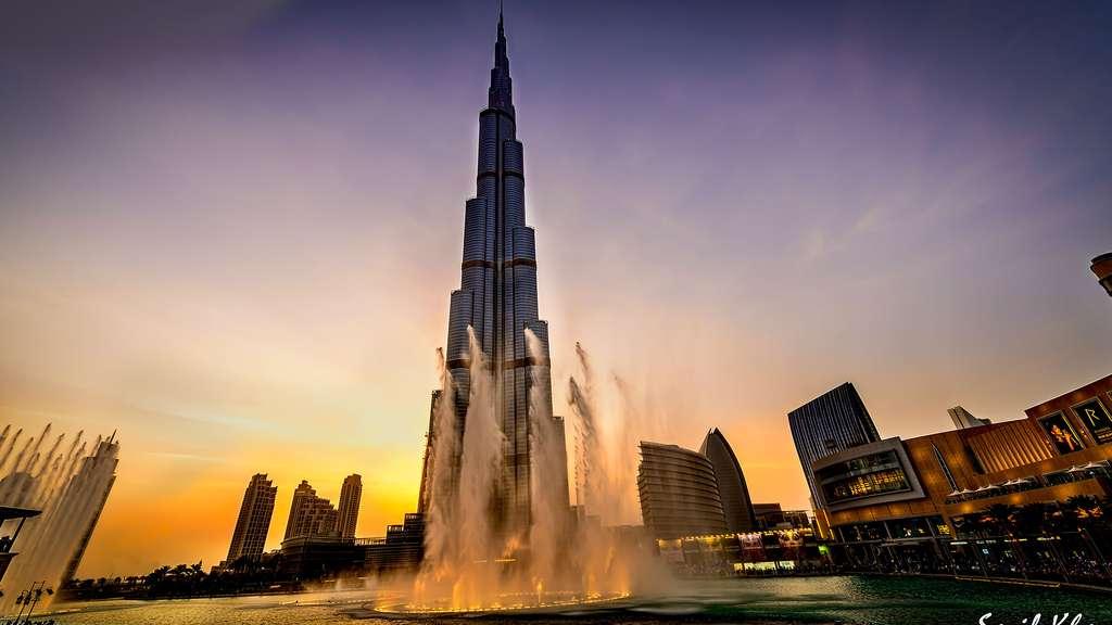 Burj Khalifa, la plus grande tour du monde