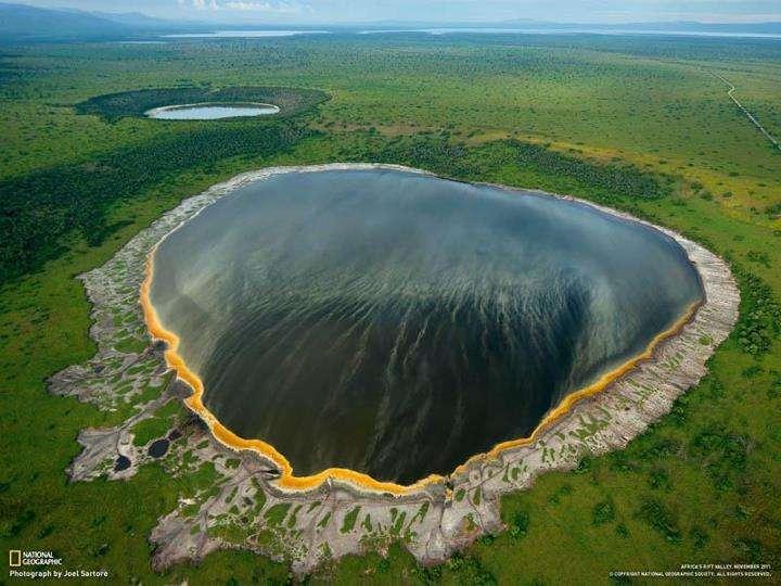 Cratère en Ouganda