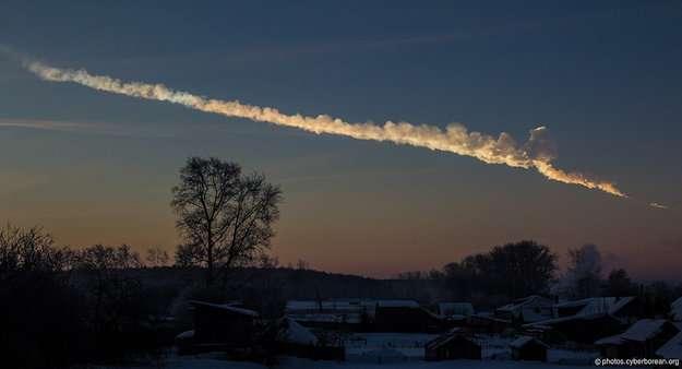 On peut observer ici la trace d'un visiteur extraterrestre. Les scientifiques recherchent des solutions pour éviter que les plus gros astéroïdes rencontrent la Terre. © Alex Alishevskikh, Flickr, cc by sa 2.0