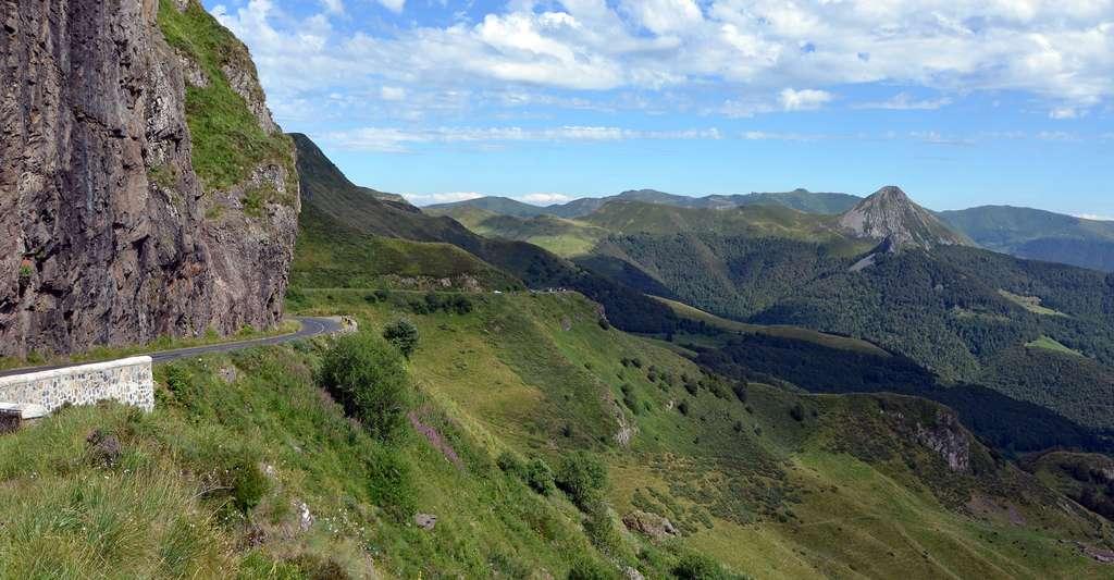 Vallée supérieure de la Jordanne, Cantal, France. © Pline, Wikimedia, CC by - sa 3.0