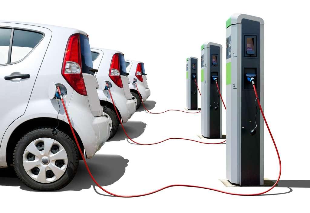 En septembre 2017, 20.000 bornes de recharge étaient accessibles en France. En 2020, ils devraient être 100.000. © Petair, fotolia