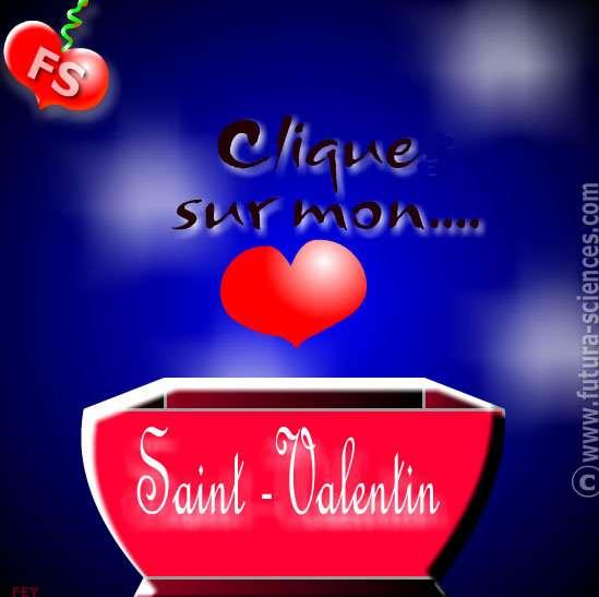 Cliquez sur la carte Saint-Valentin pour l'envoyer