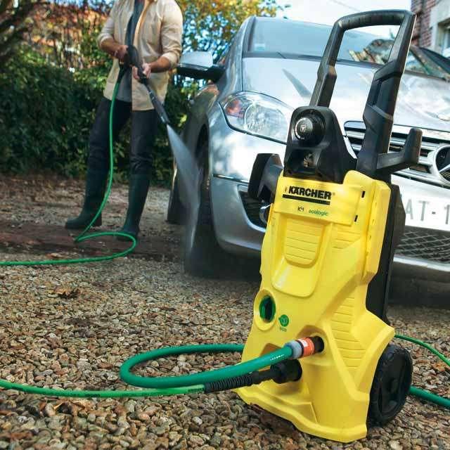 La capacité d'un nettoyeur HP se choisit en fonction des travaux à entreprendre de leur fréquence : utilisation occasionnelle, usage courant, usage fréquent, nettoyages intensifs. © Kärcher