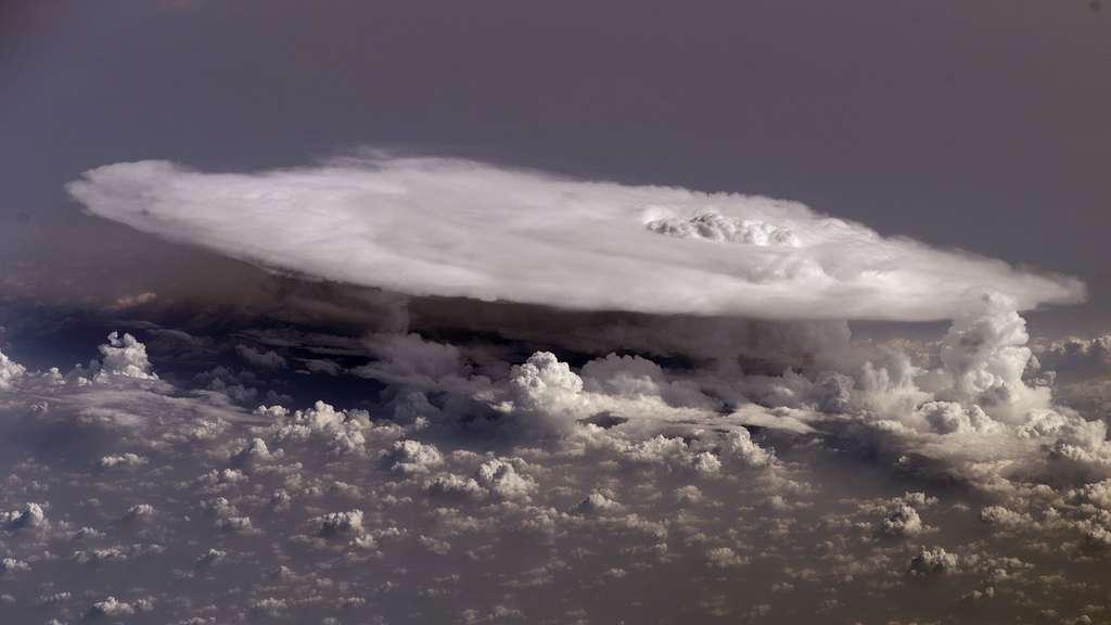 Le cumulonimbus, un nuage orageux
