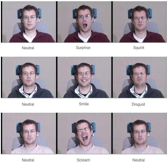 Pour améliorer les performances de leur algorithme de reconnaissance faciale, deux chercheurs de l'université chinoise de Hong Kong ont imaginé une technique d'entraînement innovante. Ils ont eu recours à quatre bases de données différentes afin de confronter leur programme au plus grand nombre de variations possibles. © Multi-PIE