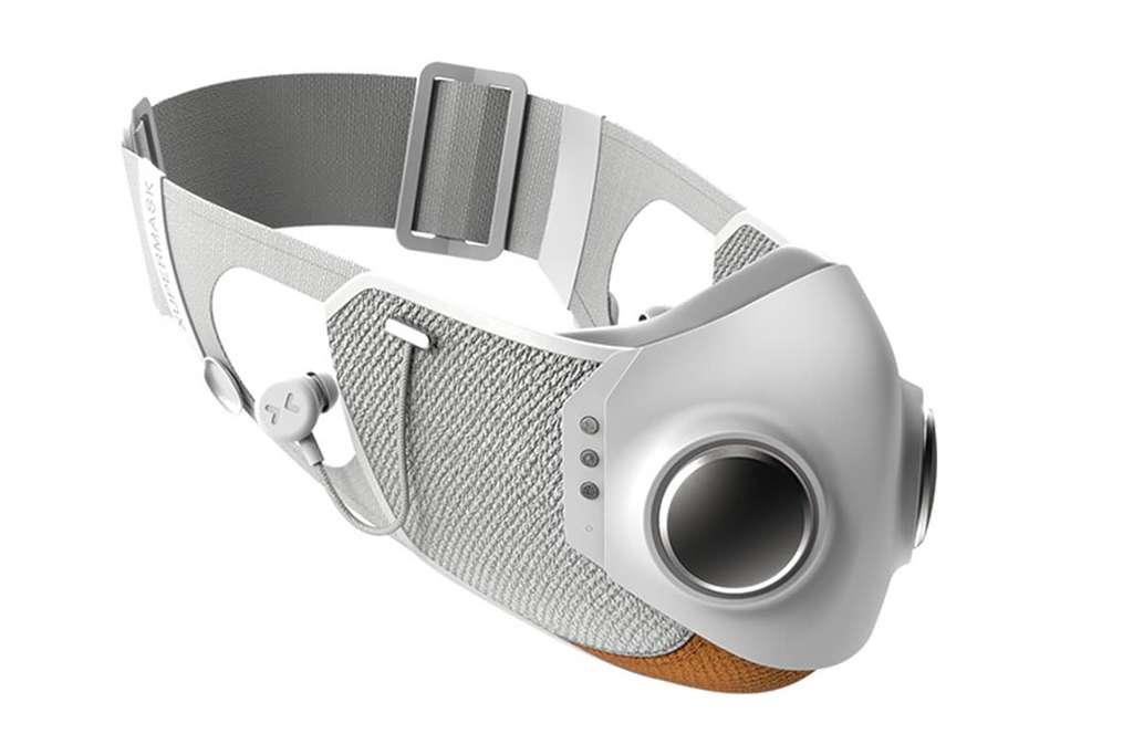 Le contour du masque se compose d'un joint en silicone pour s'adapter à tous les visages. © Honeywell