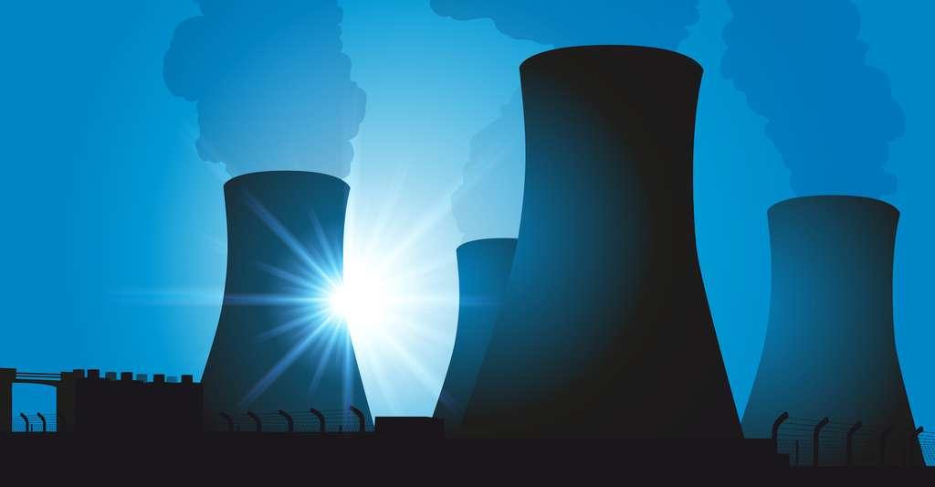 Les centrales nucléaires constituent des environnements exigeants (corrosion, température, contraintes mécaniques, etc.) dans lesquels les aciers peuvent être très utiles. © pict ride, Fotolia