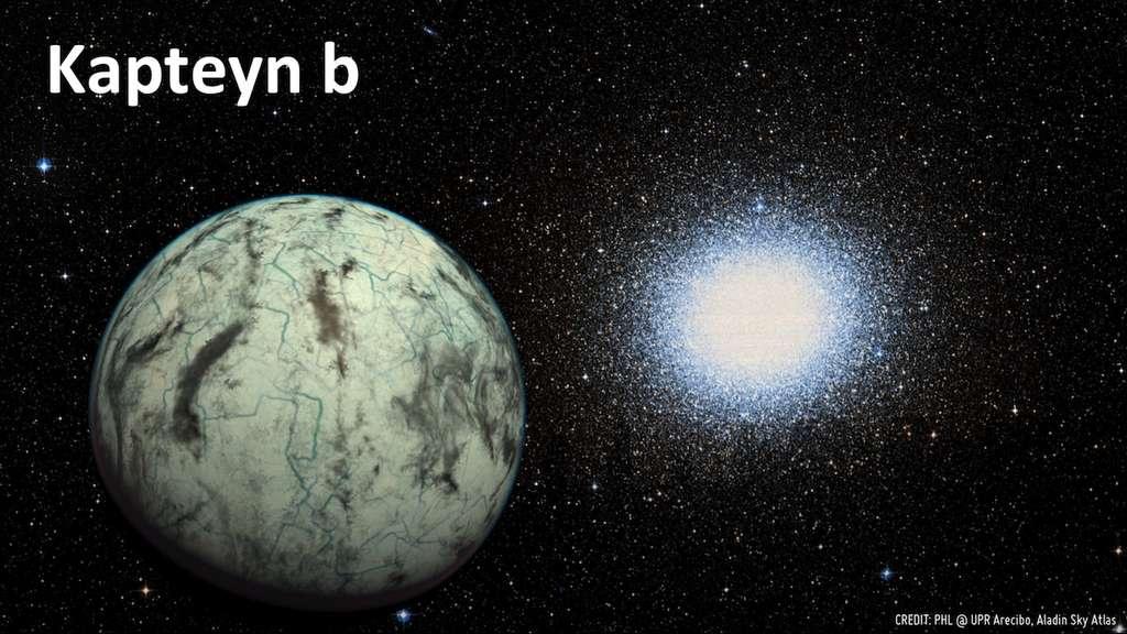 Kapteyn b, une superterre habitable ?