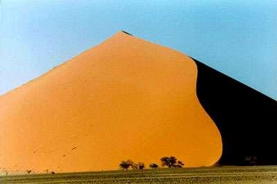 Dune de Namibie. © Candiotti, Wikipédia