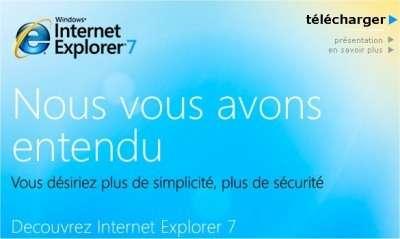 Microsoft l'affirme : il a écouté les reproches des utilisateurs d'Internet Explorer, de plus en plus nombreux à adopter d'autres navigateurs, en particulier Firefox.