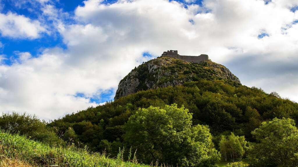 Le château de Montségur et la fin des cathares