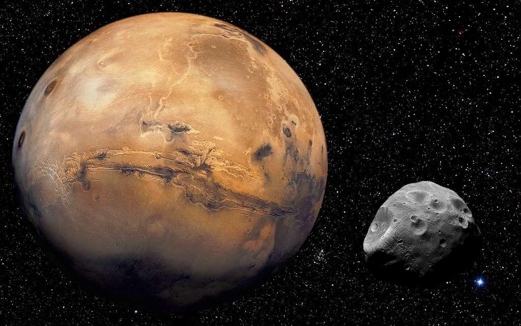 On sait aujourd'hui que de l'eau a coulé sur Mars. © TopTechWriter-US, Flickr CC by nc-sa 3.0