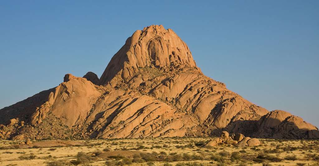 Ancien volcan Spitzkoppe. © Ikiwaner, GFDL