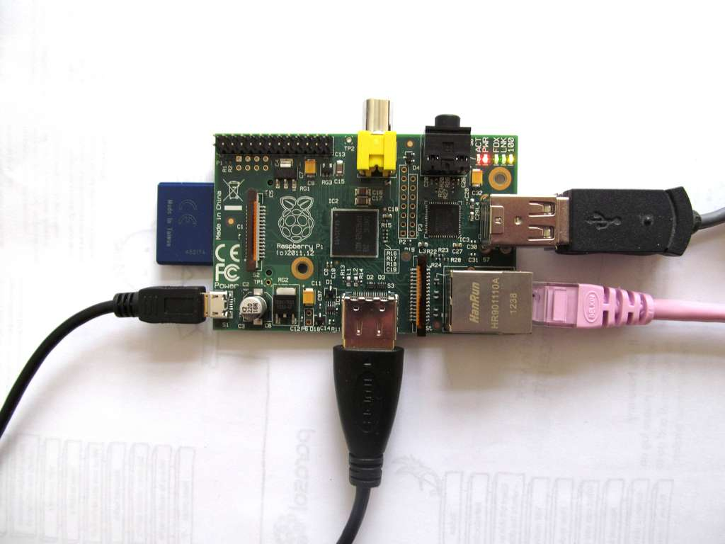 Le Raspberry Pi. © Clive D, Flickr