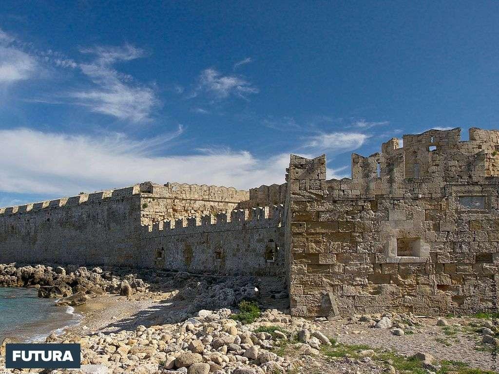 Fortifications médiévales à Rhodes - Gréce