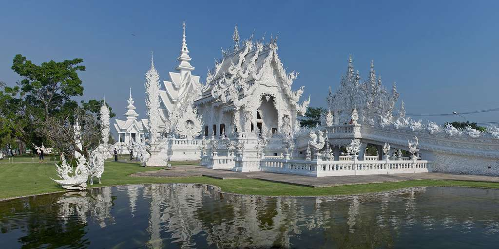 Wat Rong Khun, un temple pour symboliser la pureté du bouddhisme