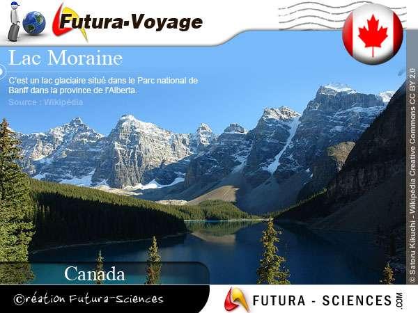 Lac Moraine Parc national de Banff