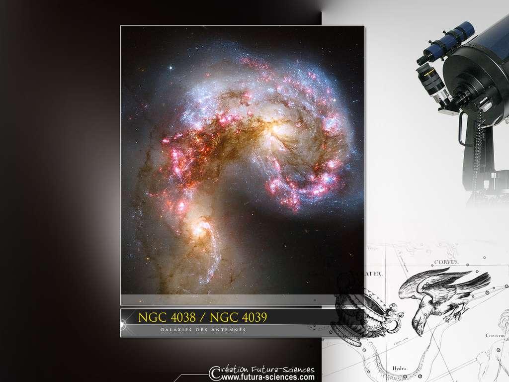 Galaxies des antennes