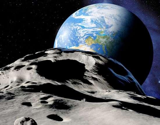 Astéroïdes ou comètes, peu importe leur nom, si un tel objet devait percuter la Terre, les dommages et les conséquences seraient proportionnels à sa taille. Un astéroïde d'un kilomètre de diamètre mettrait fin à l'espèce humaine. © DR