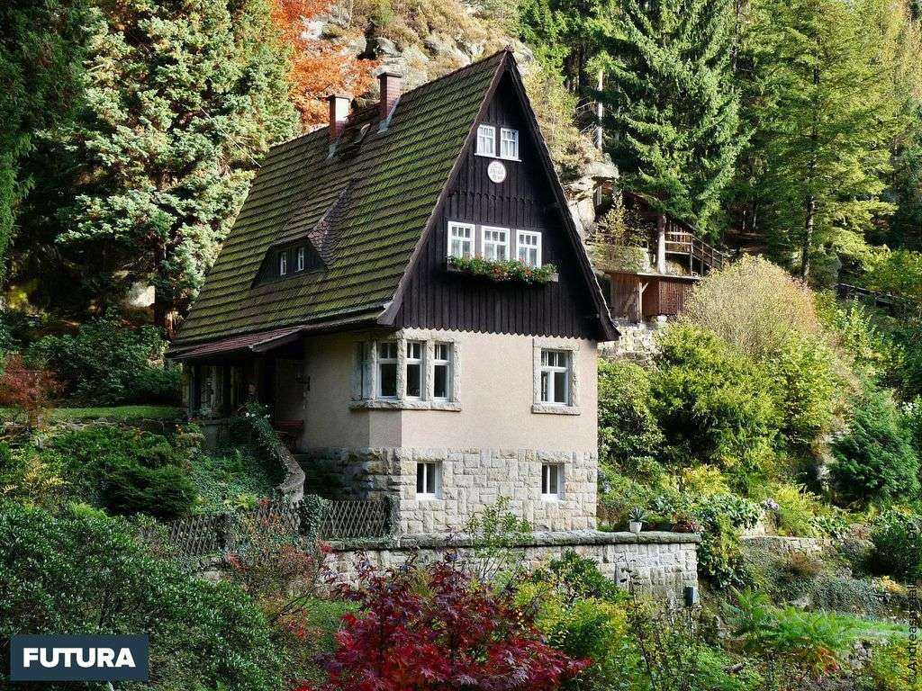 La maison des Trois Filles, Suisse.