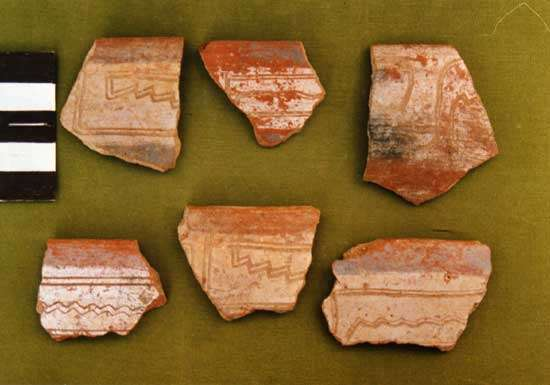 Fig. 14 : Fragments de céramique de style Local A © J. Guffroy IRD
