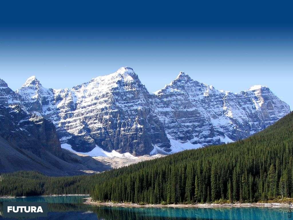 Lac Moraine Parc national Banff - Canada