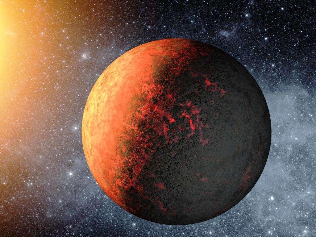 Une vue d'artiste de Kepler 20e l'infernale. © Nasa/Ames/JPL-Caltech