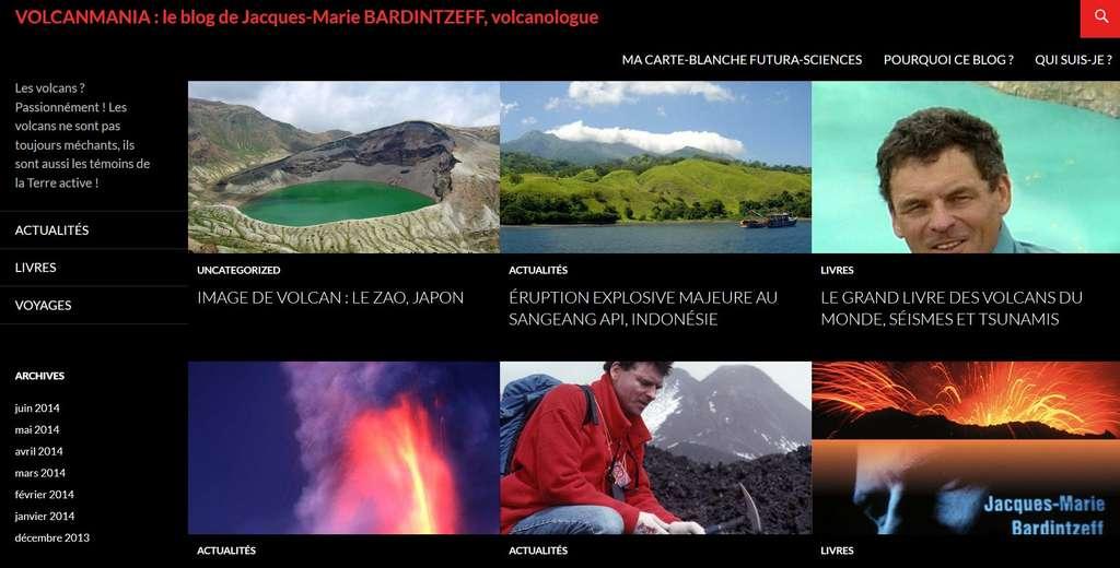 Jacques-Marie Bardintzeff a exploré la plupart des sites volcaniques du Globe. Il raconte ses voyages sur Futura-Sciences, dans son blog Volcanmania.