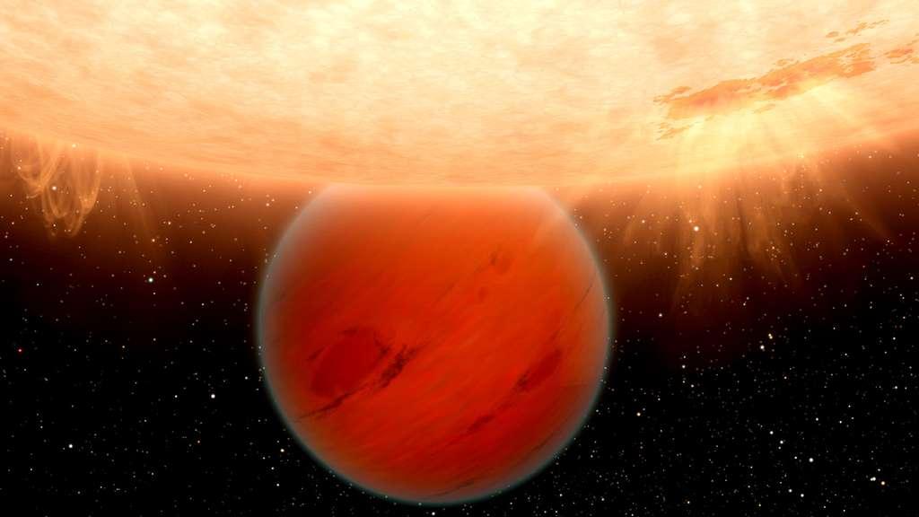 GJ 436b, une géante gazeuse exempte de méthane