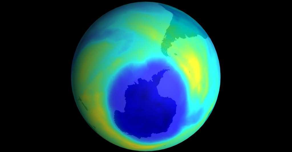 Trou dans la couche d'ozone. © NASA Domaine public