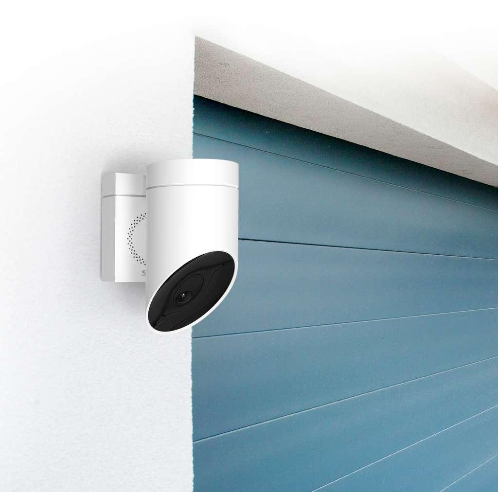 La caméra de sécurité Somfy Outdoor Camera. © Somfy